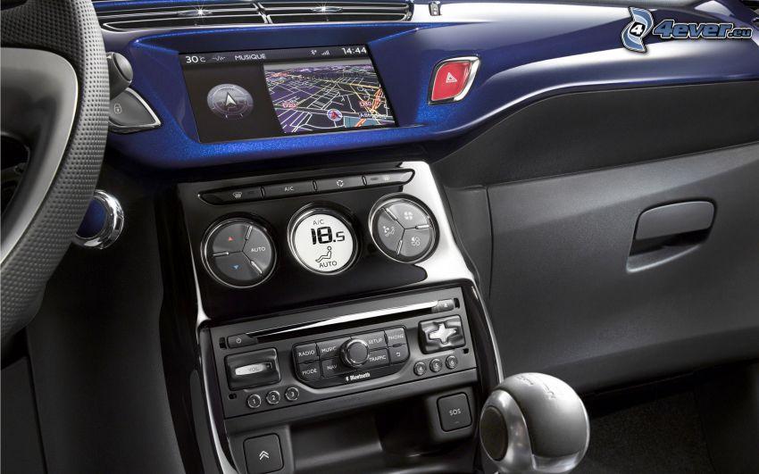 Interieur den Citroen DS3 Cabrio