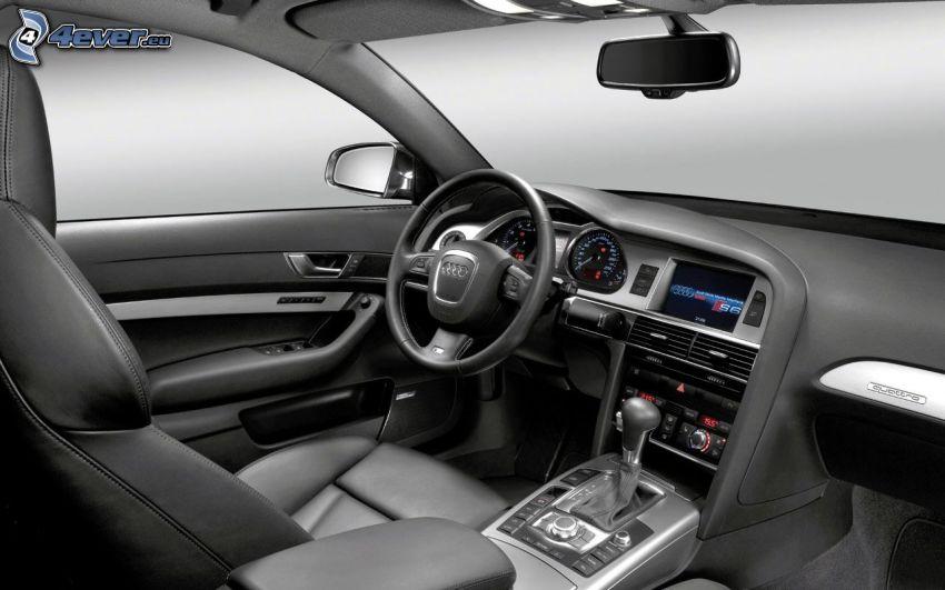 Interieur des Audi A6