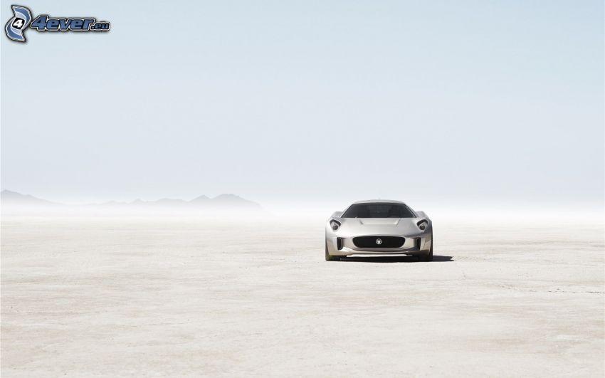 Jaguar C-X75, Wüste