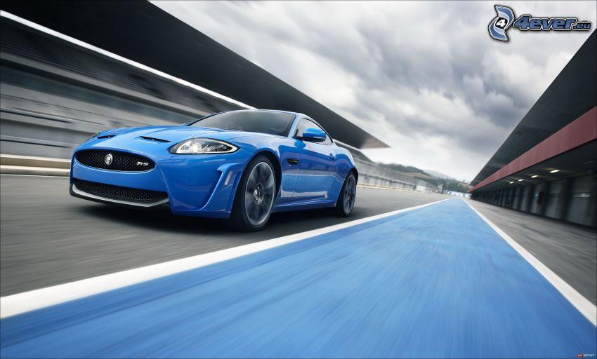 Jaguar XKR-S Convertible, Geschwindigkeit