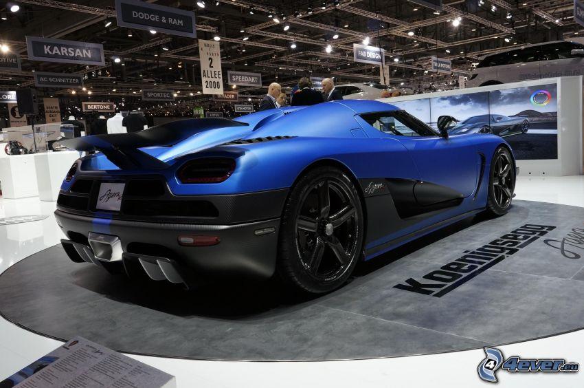 Koenigsegg Agera R, Ausstellung, Automobilausstellung