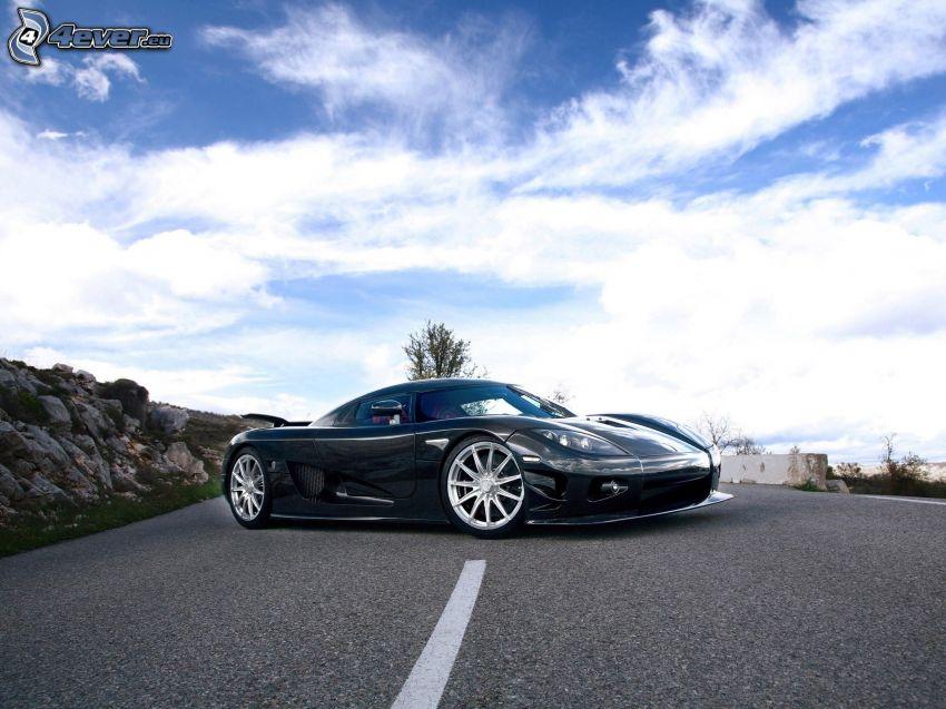 Koenigsegg CCX, Straße, Himmel
