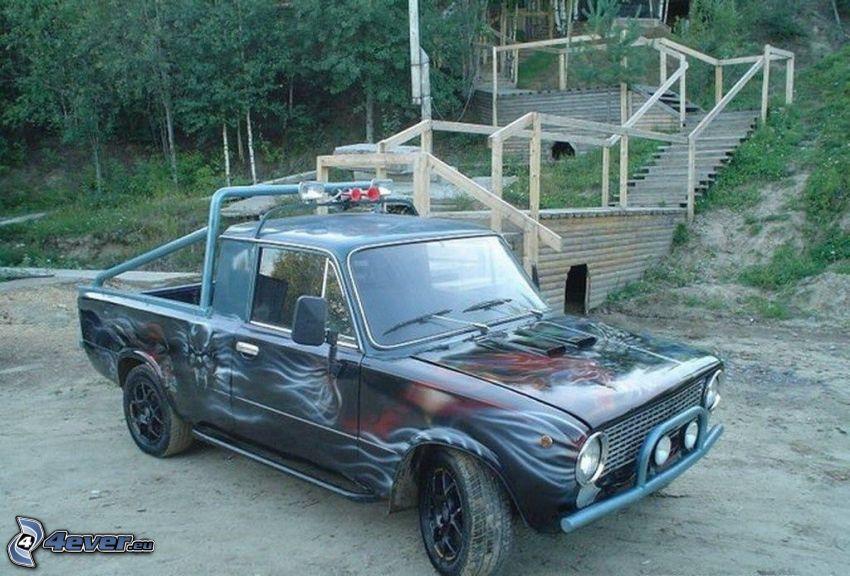 Lada, pickup truck