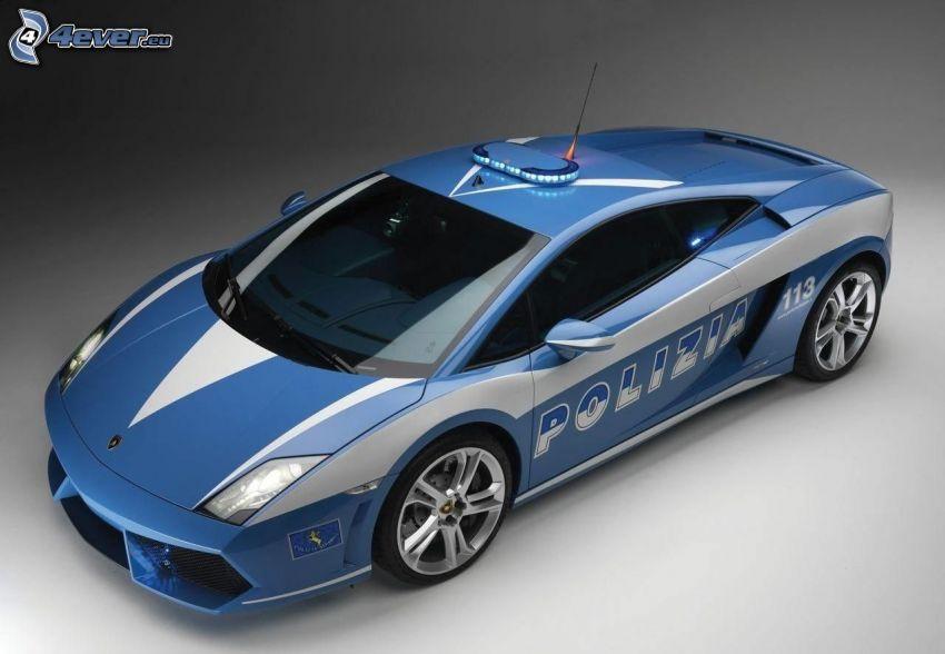Lamborghini Gallardo, Polizei
