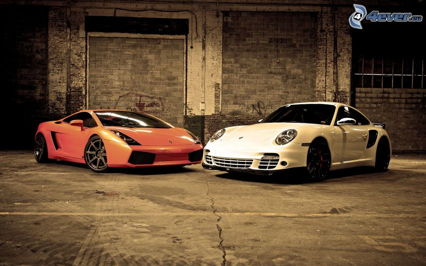 Lamborghini Gallardo, Porsche 997 GT3