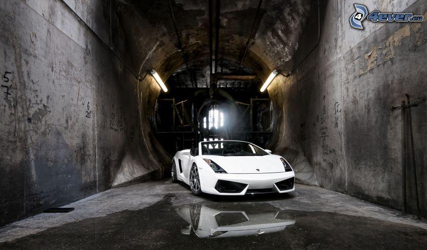 Lamborghini Gallardo Spyder, Tunnel