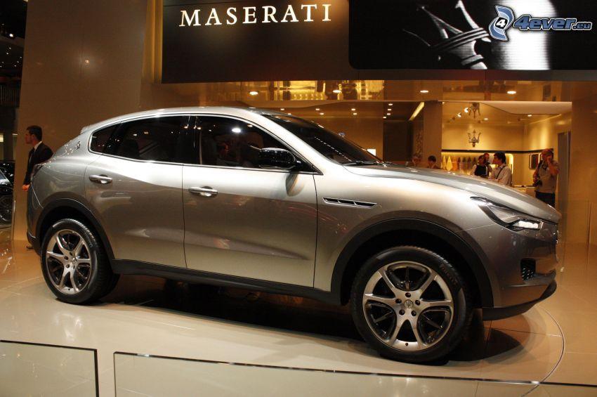 Maserati Kubang, Ausstellung, Automobilausstellung