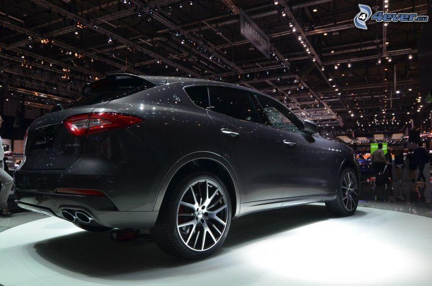 Maserati Levante, Ausstellung, Automobilausstellung
