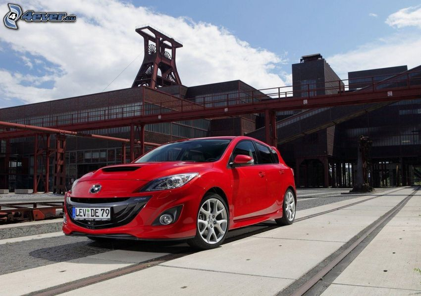 Mazda 3, die alte Fabrik