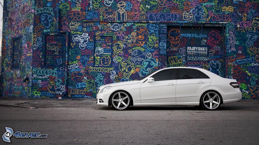 Mercedes-Benz C220 CDI, Graffiti
