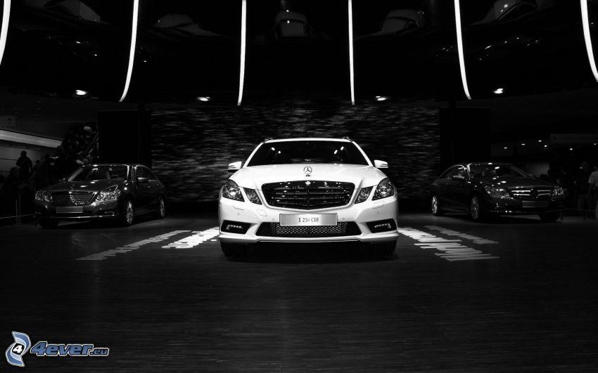 Mercedes-Benz E250 CDI, Ausstellung