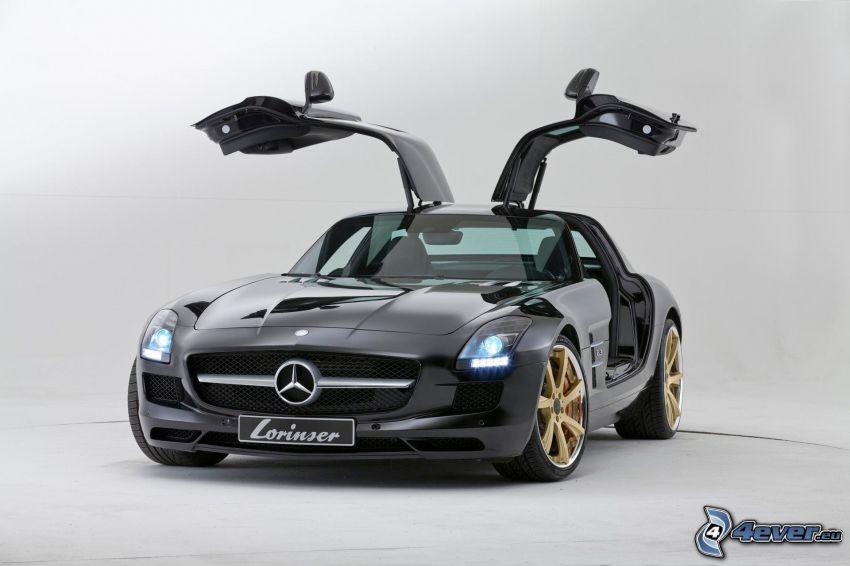 Mercedes-Benz SLS AMG, Tür