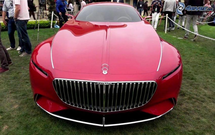 Mercedes-Maybach 6, Ausstellung