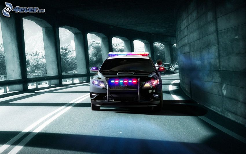 Need For Speed, Polizeiauto