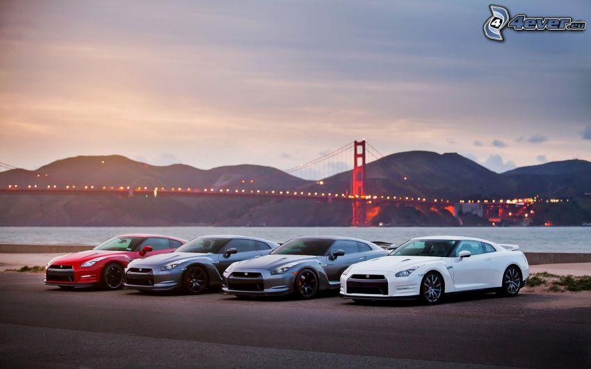 Nissan GT-R, Golden Gate, San Francisco