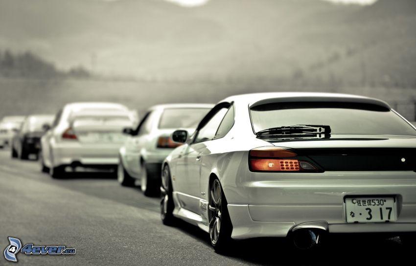 Nissan Silvia, Autos