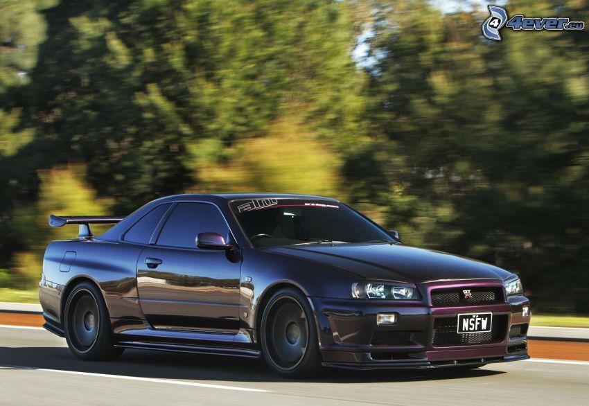 Nissan Skyline GT-R R34, Geschwindigkeit