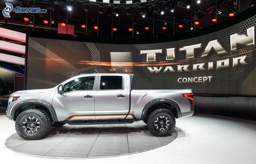 Nissan Titan, Ausstellung, Automobilausstellung