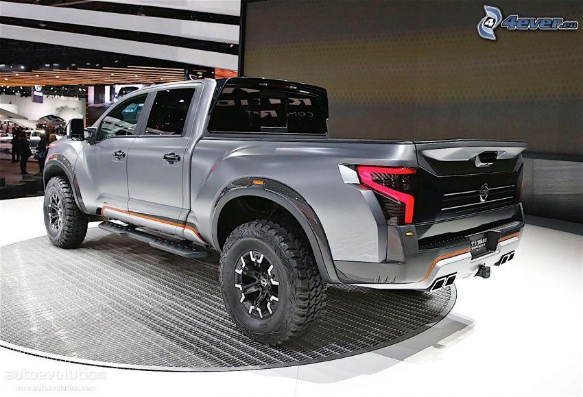 Nissan Titan, Automobilausstellung