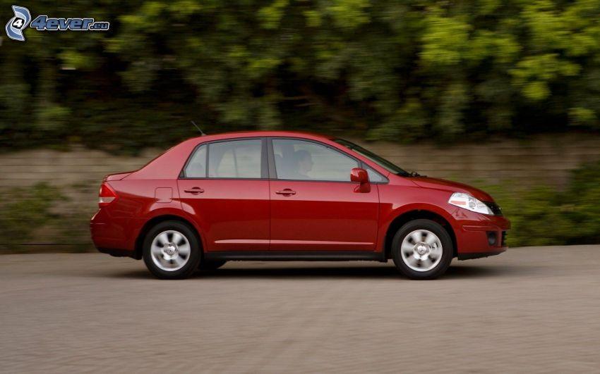 Nissan Versa, Geschwindigkeit