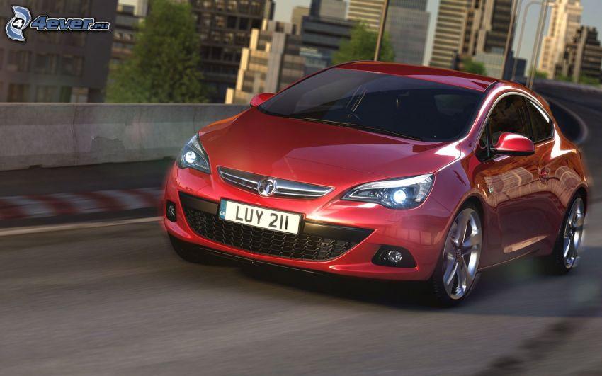Opel Astra, Geschwindigkeit