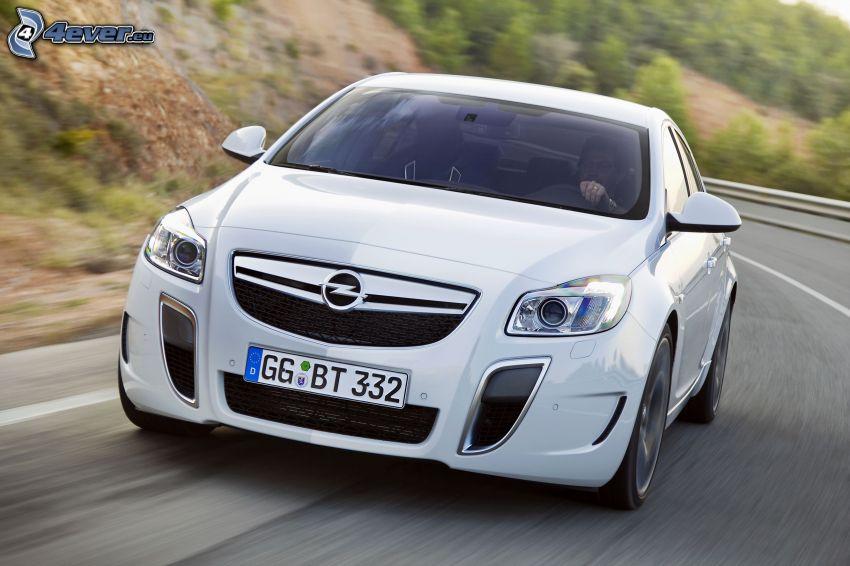 Opel Insignia OPC, Geschwindigkeit, Kurve