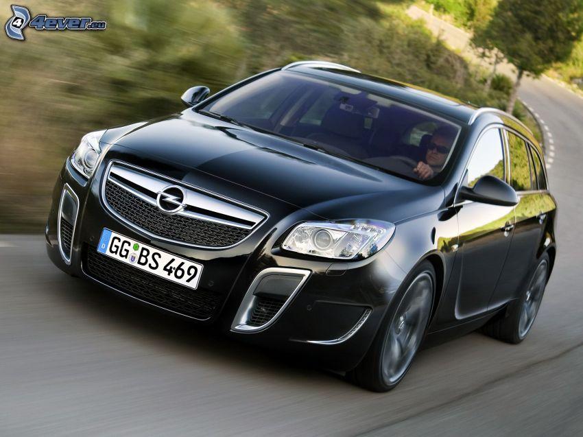 Opel Insignia OPC, Geschwindigkeit, Mann