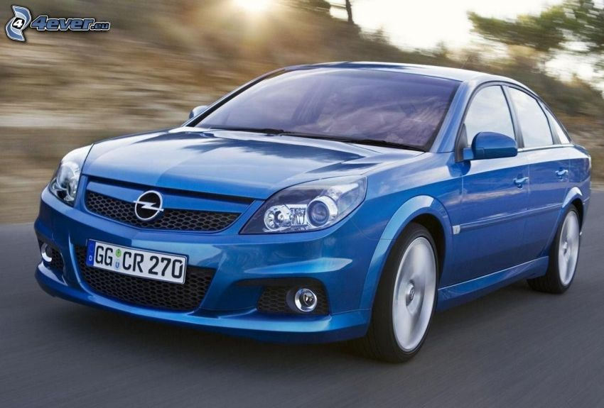 Opel Vectra, Geschwindigkeit
