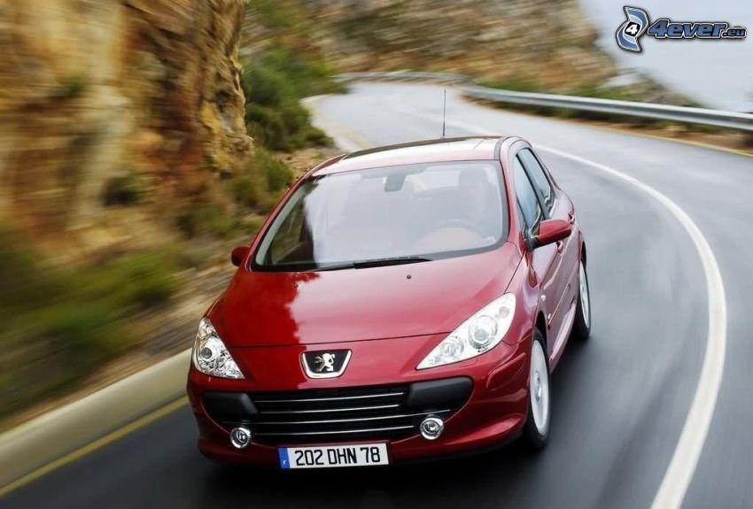 Peugeot 307 CC, Geschwindigkeit