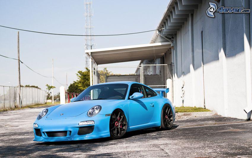 Porsche 911, Gebäude