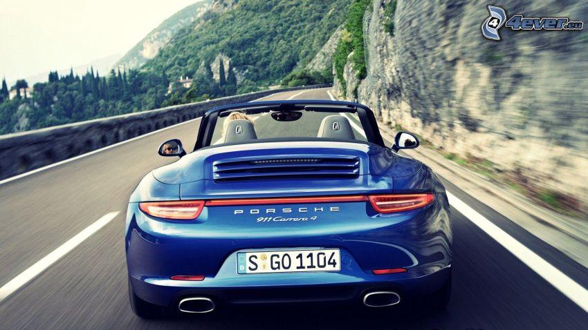 Porsche 911 Carrera, Straße, Geschwindigkeit