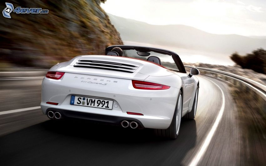 Porsche 911 Carrera S, Geschwindigkeit