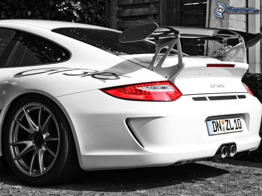 Porsche GT3R, Sportwagen, Rücklicht