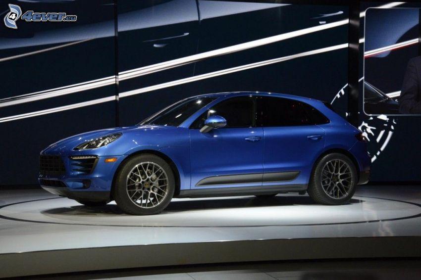 Porsche Macan, Automobilausstellung