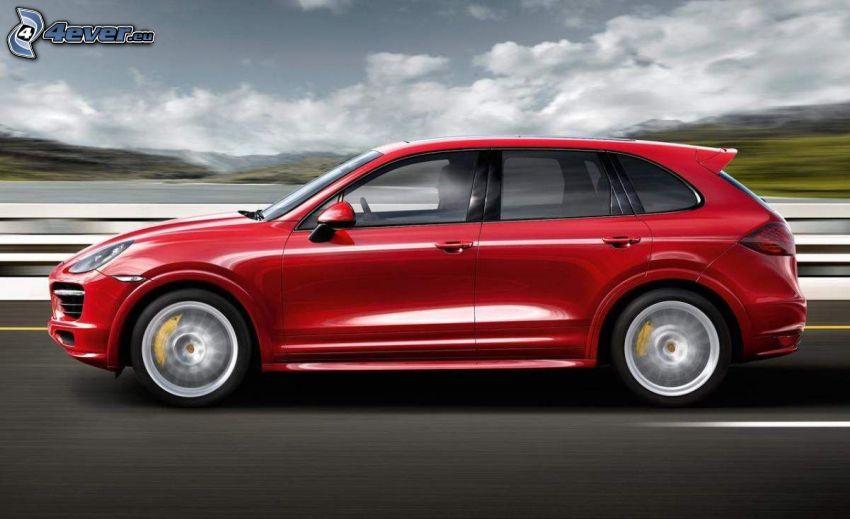 Porsche Macan, Geschwindigkeit