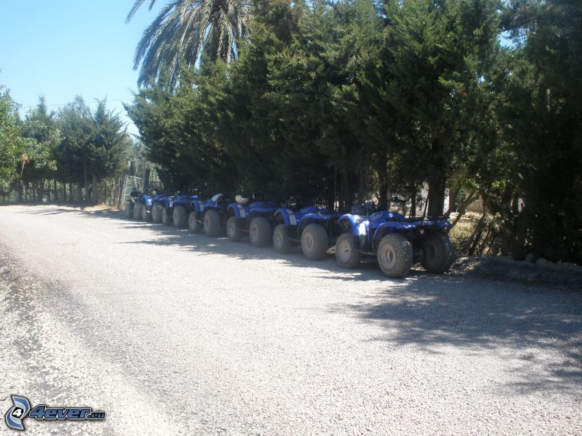 Quads, Tabarka, Tunesien, Urlaub