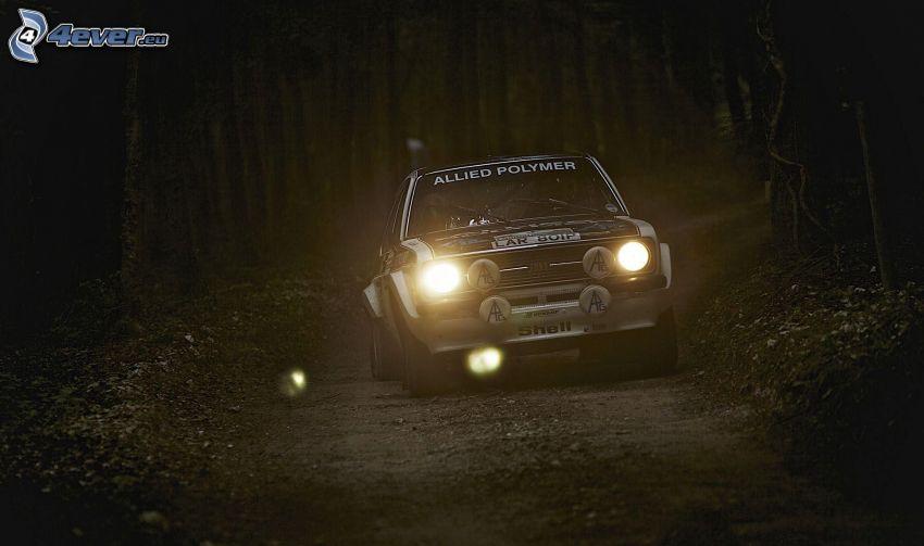 Rallye, Waldweg