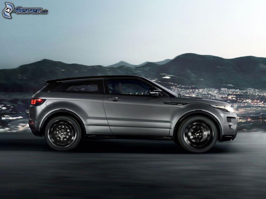 Range Rover Evoque, Berge
