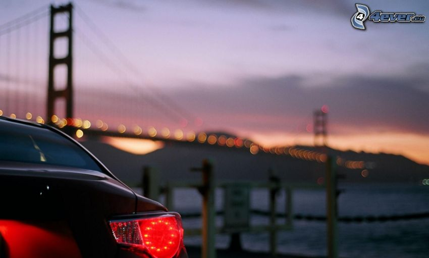 Reflektor, Golden Gate, San Francisco