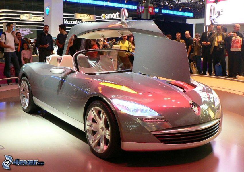 Renault Nepta, Ausstellung, Automobilausstellung