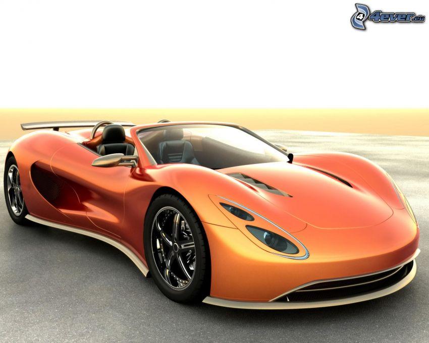 Ronn Motor Scorpion, Konzept, Cabrio