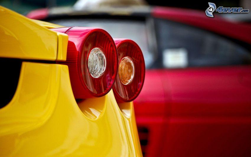 Rücklicht, Ferrari