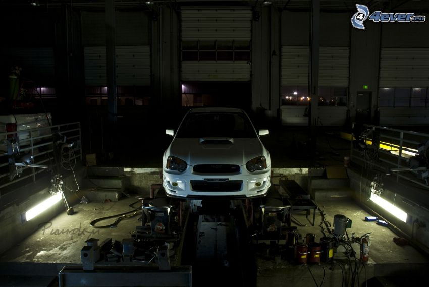 Subaru, Werkstatt