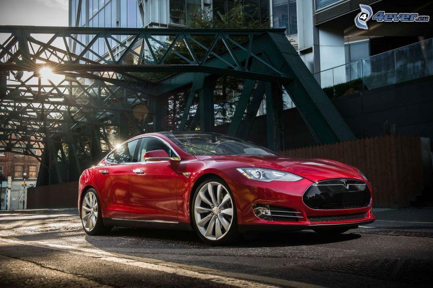 Tesla Model S, elektrisches Auto