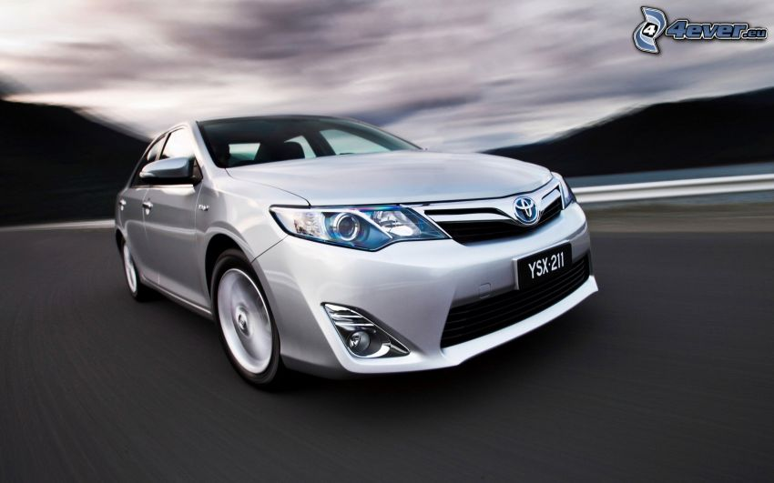 Toyota Camry, Hybrid, Geschwindigkeit