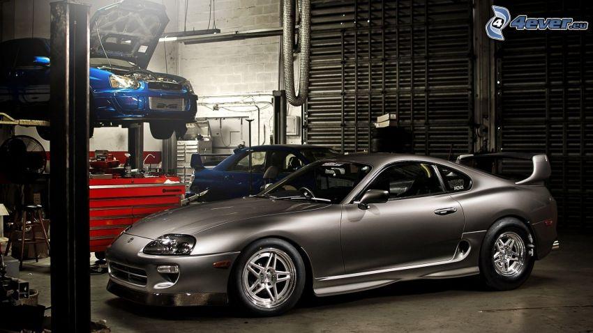 Toyota Supra, Werkstatt