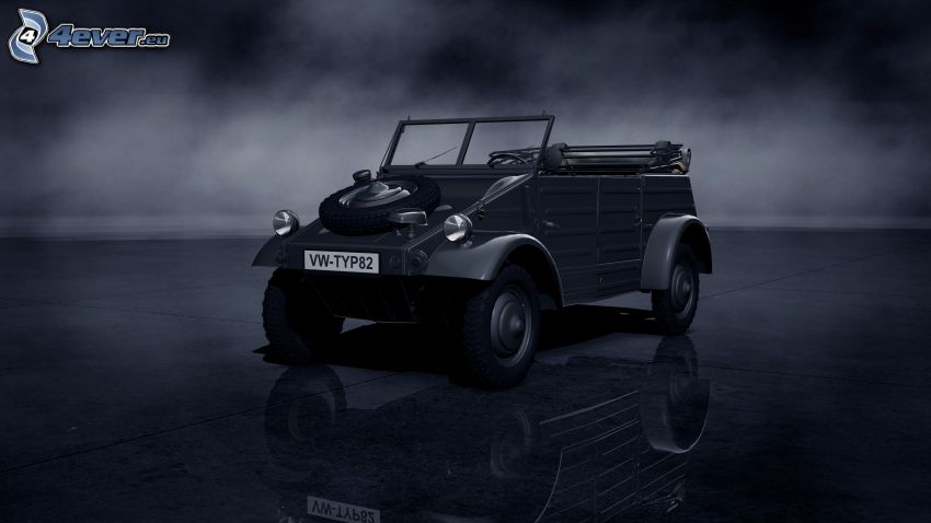 volkswagen, Oldtimer, Cabrio