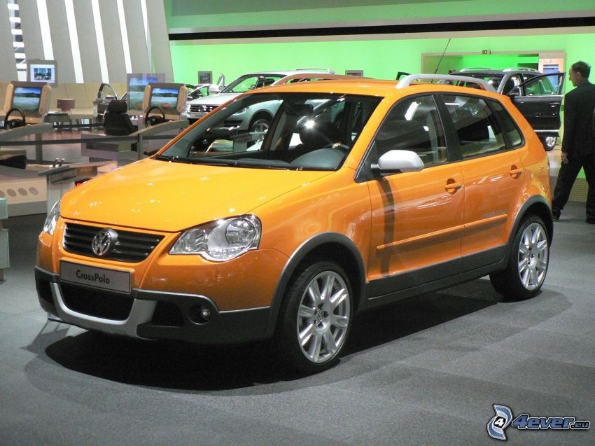 Volkswagen Cross Polo, Automobilausstellung