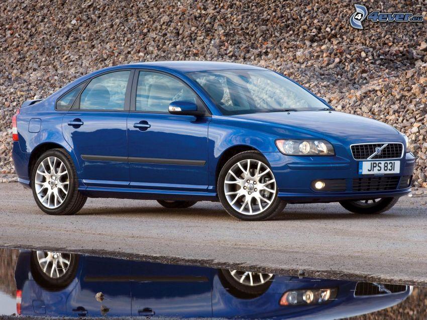 Volvo S40, Wasser, Spiegelung