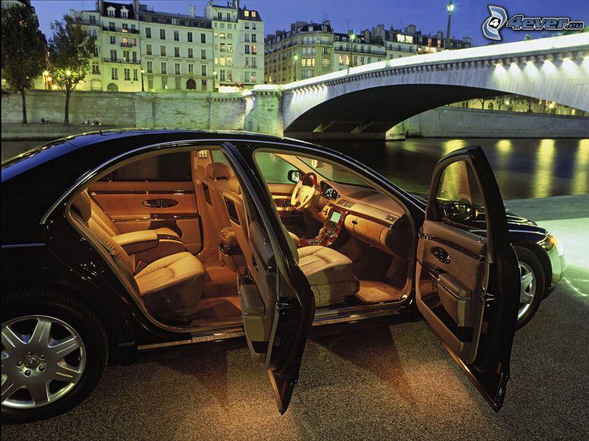 Maybach, Innenraum, Luxus, City, Brücke